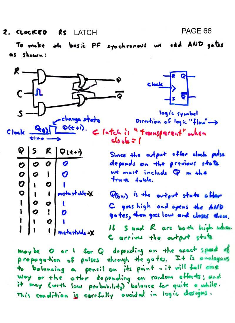 Ld Index D Flip Flop 7474 Logic Diagram Latch Page 68 Jk 69 Clock Signals And Master Slave 70 Edge Triggered 71 Type Flops